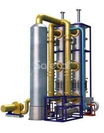 Установка промышленной очистки воздуха SC с блоком контактной конденсации