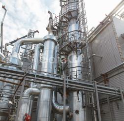 Линия очистки промышленных отходящих газов