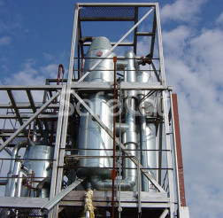 Система дожига отходящих газов, ОАО «Карелия ДСП»