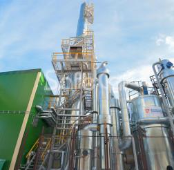 Система очистки технологических выбросов, ОАО «Речицадрев»