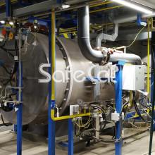 Установка очистки газовых сбросов и выбросов SC
