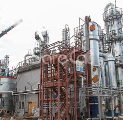 Технологическая линия каталитической очистки отходящих газов