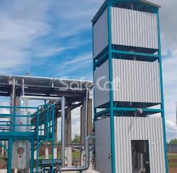 Установка каталитического окисления газовых выбросов, АО «СИБУР-Химпром»