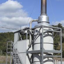 Циклонная печь термической газоочистки SC