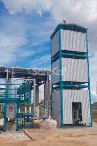 Каталитический окислитель для нейтрализации газов УКО-100