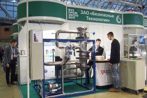 Установка каталитической очистки выбросов SC. Презентация на выставке