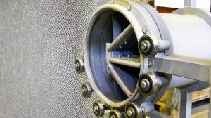 Роторный концентратор для установки очистки газов