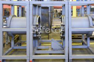 Роторный концентратор установки очистки воздуха