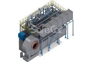Установка промышленной очистки воздуха SC