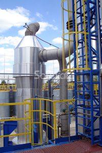 Каталитическая очистка технологических газов