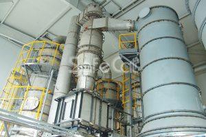 Комплекс промышленной газоочистки