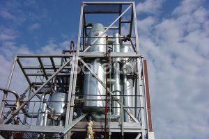 Система дожига отходящих газов