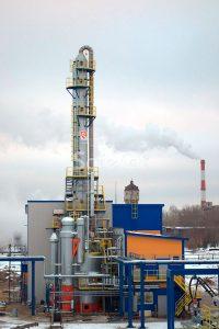 Очистка технологических выбросов химического завода