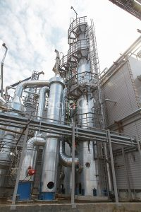 Очистка отходящих промышленных газов