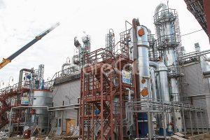 Технологическая линия каталитический газоочистки