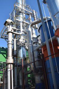 Система каталитической газоочистки технологических выбросов