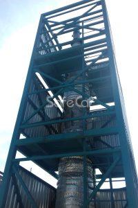 Каталитический реактор установки SafeCAT