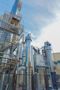 Линия очистки технологических сбросов химического завода