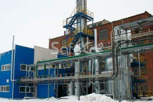 Очистка газов для химического завода, ОАО «Уралхимпласт»