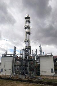 Очистка технологических газов химического завода