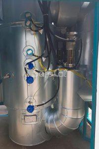 Установка окисления и утилизации газовых выбросов