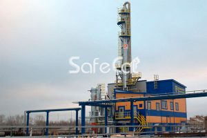 Утилизация технологических выбросов химического завода